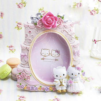 imikimi happy birthday frame ; Happy-birthday-cake-imikimi-resin-picture-photo