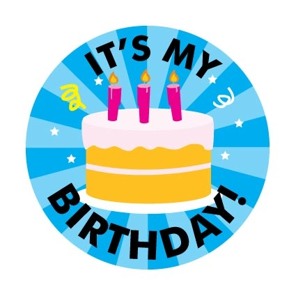 it's my birthday sign ; BDAY001A-2