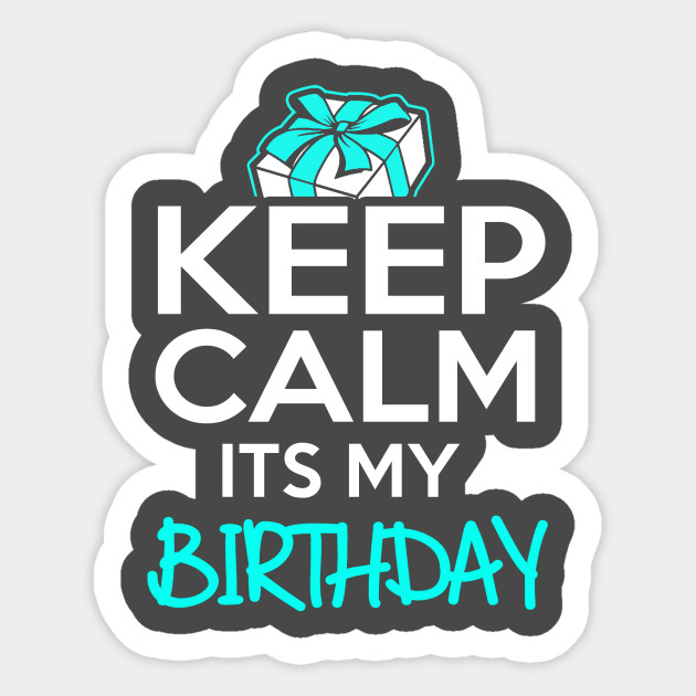 it's my birthday stickers ; 1016479_1