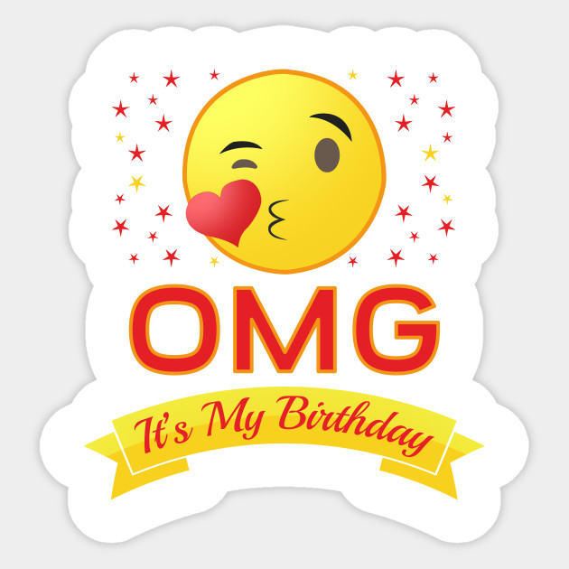 it's my birthday stickers ; 2257111_1