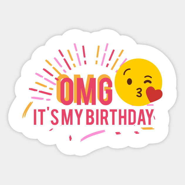 it's my birthday stickers ; 2257847_1