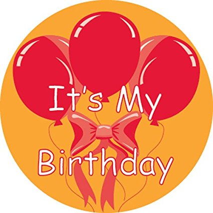 it's my birthday stickers ; 51JVEWWXazL