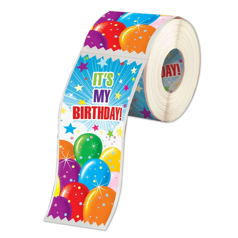 it's my birthday stickers ; RRS-102