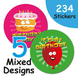 it's my birthday stickers ; s-l300