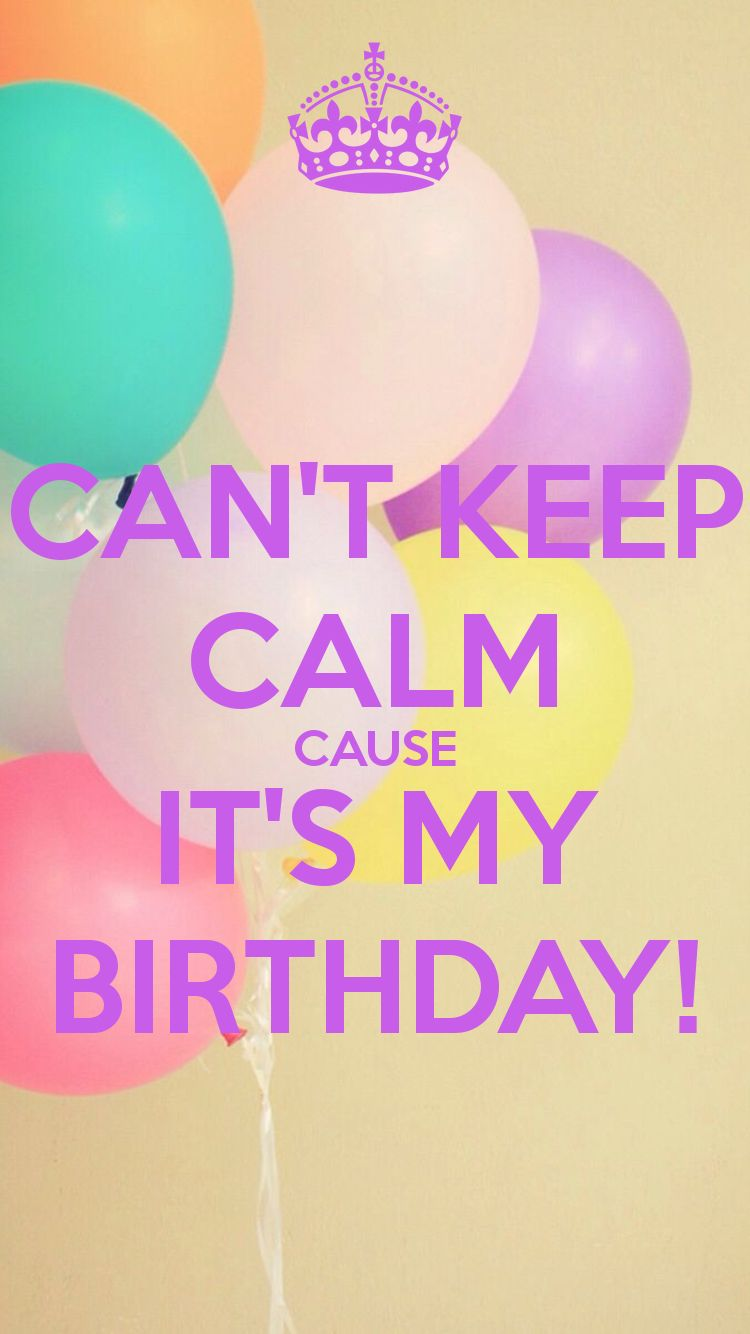 it's my birthday wallpaper ; d4f05003db980acdfbd29ae02690301b