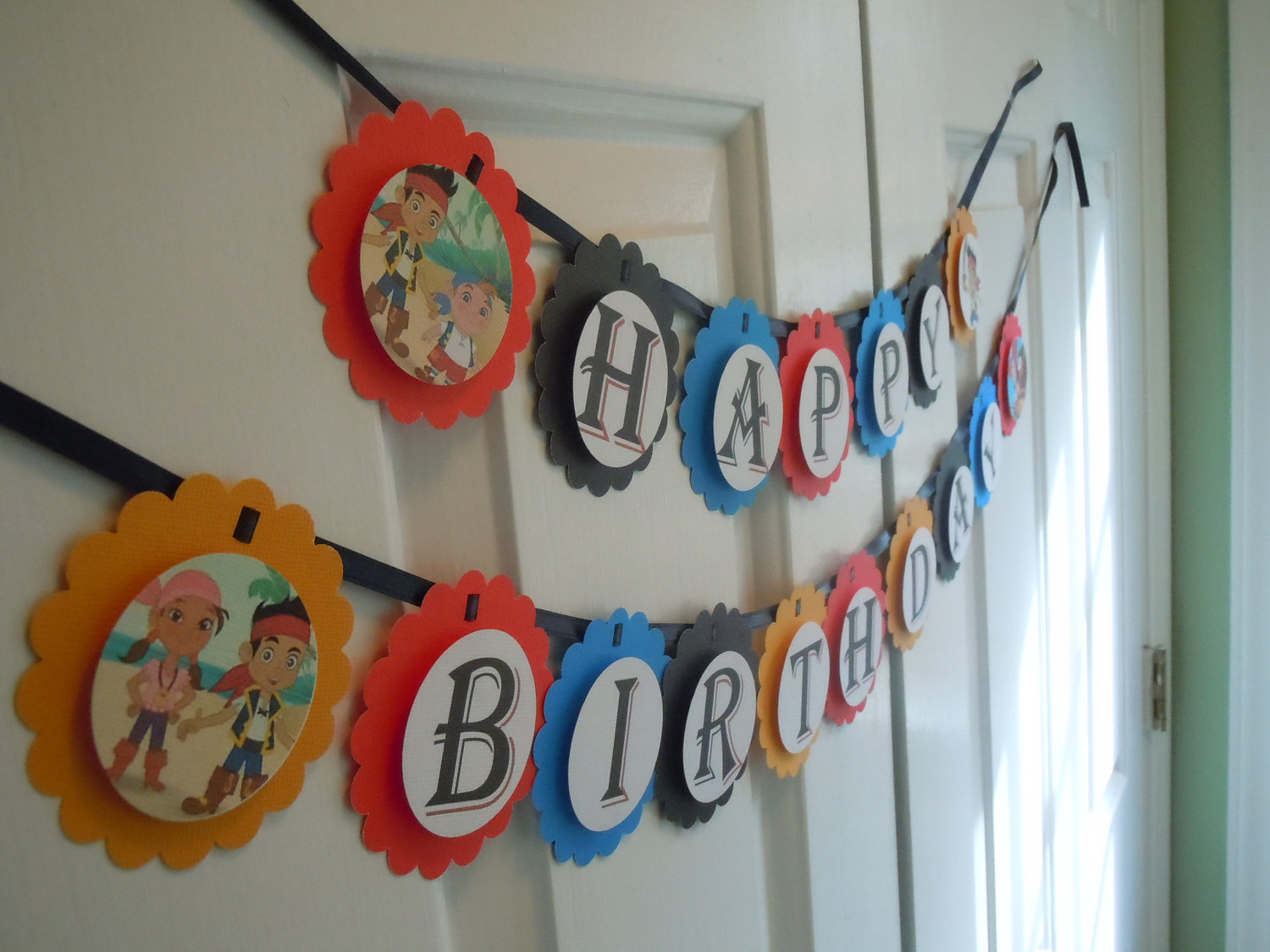 jake and the neverland pirates birthday banner ; 15ff65a808c55e4c6060c38c3030eb3a