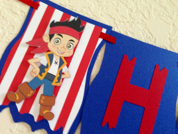 jake and the neverland pirates birthday banner ; 35c6d8e2f5e099920c497cde55b5394d
