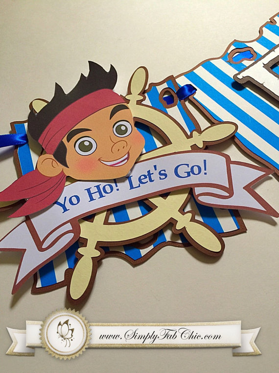 jake and the neverland pirates birthday banner ; 8ee496b9356b377e71b880618ea99f0f