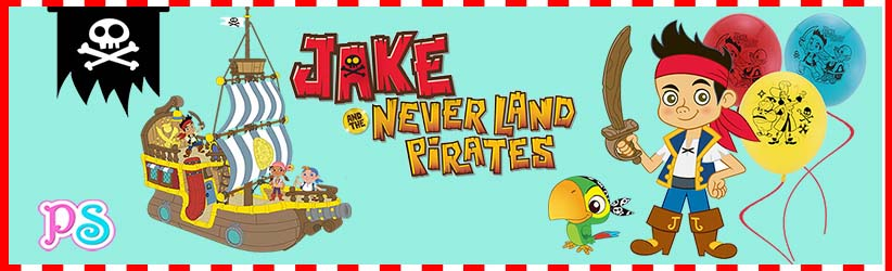 jake and the neverland pirates birthday banner ; jakeneverlandpirate_category_banner