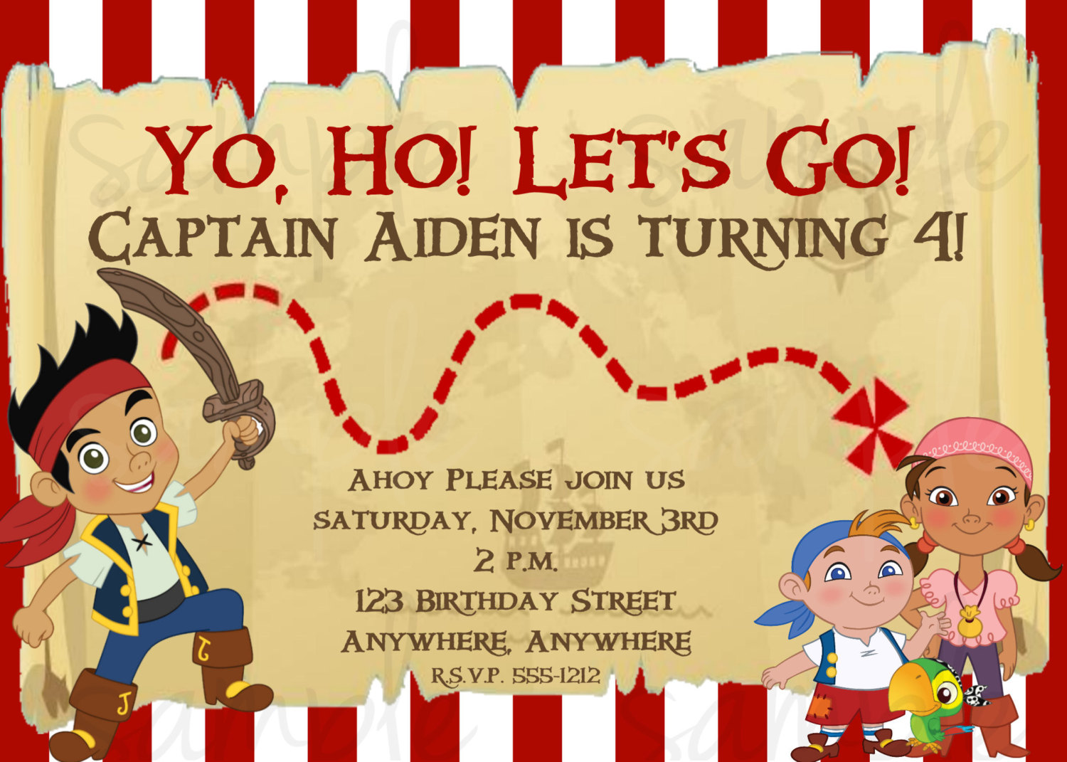 jake and the neverland pirates birthday banner ; superb-jake-and-the-neverland-pirates-happy-birthday-banner-given-unique-birthday