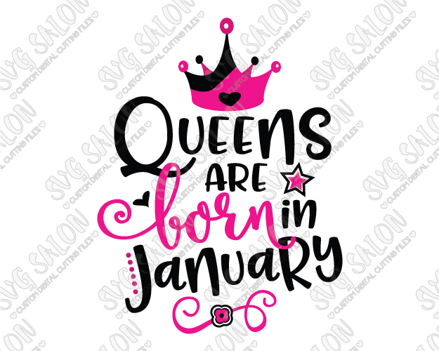 january birthday clipart ; Queens-Are-Born-In-January-Large-Sample