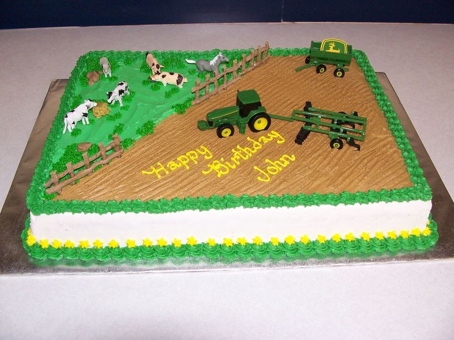 john deere birthday sheet cakes ; 900_688709U5VD_john-deere-birthday