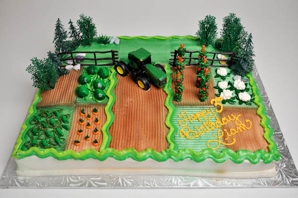 john deere birthday sheet cakes ; johndeere11