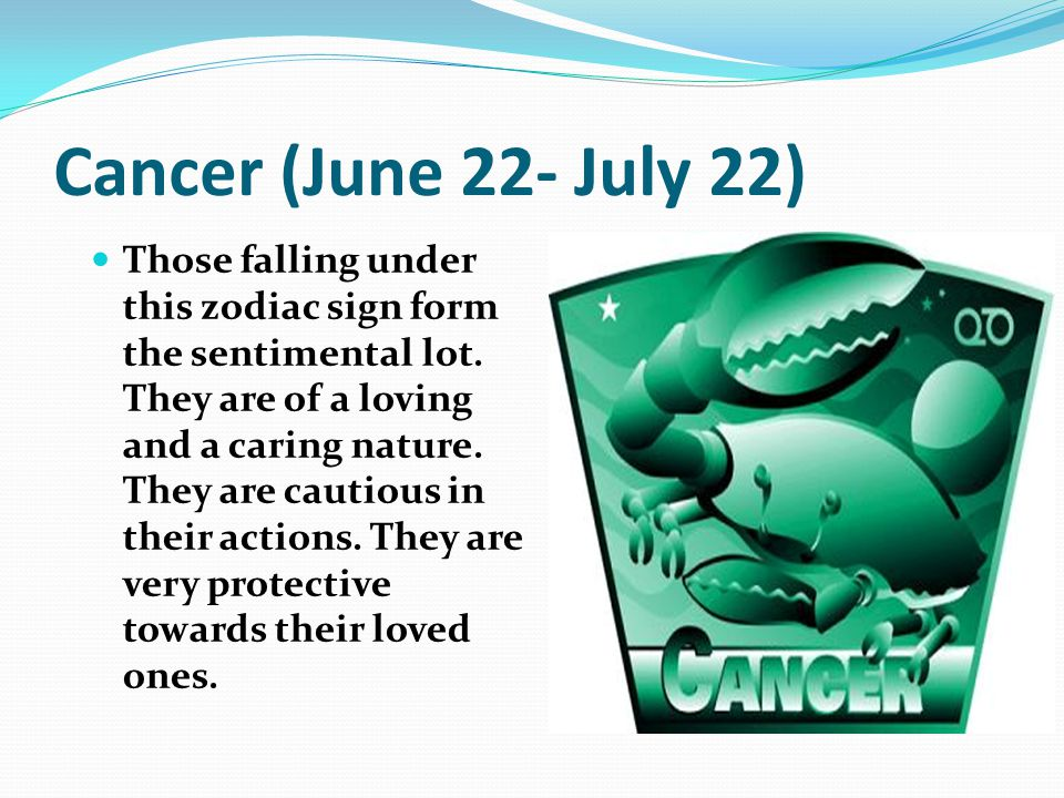july 22 birthday sign ; Cancer+%2528June+22-+July+22%2529