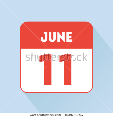 june 11 birthday sign ; stock-vector-june-calendar-icon-red-flat-holiday-birthday-wedding-day-date-1039789294