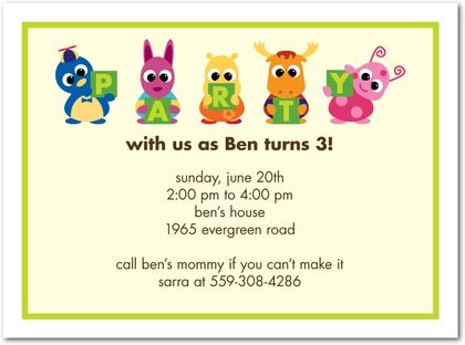 kids birthday party invitations with photo ; 12ea25526a1bf5ad6d8e0ca40a396f99