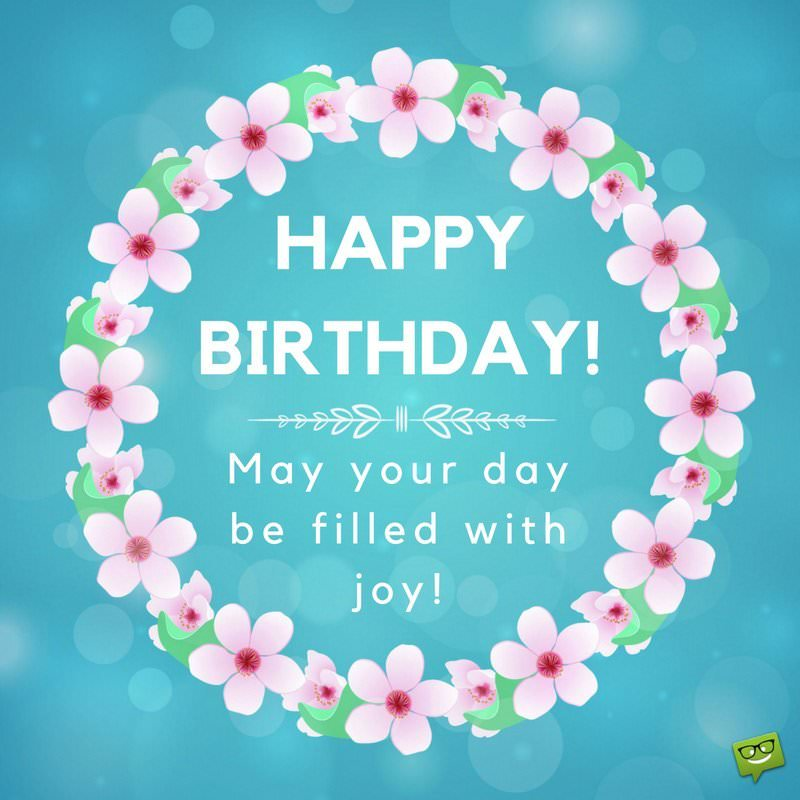 kind happy birthday wishes ; Happy-Birthday-wish-for-a-friend-with-floral-frame-and-loving-message