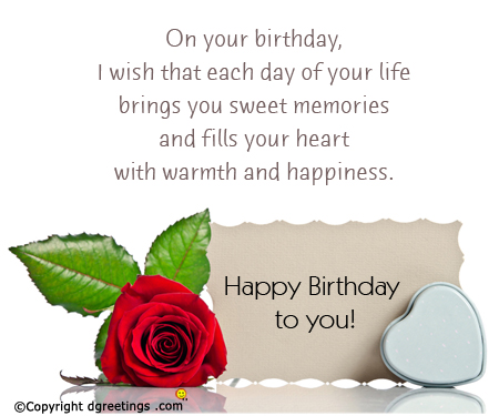 kind happy birthday wishes ; warmth-and-happiness-birthday