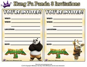 kung fu panda birthday invitation printable ; 3aa3dd24808a09dbfba82bf880d15391