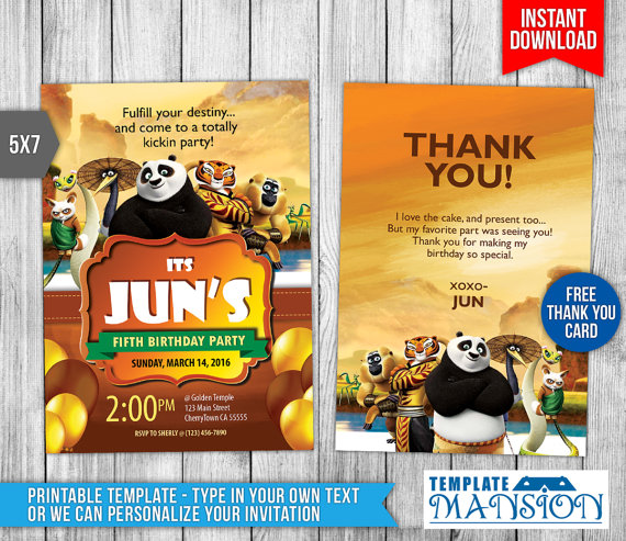 kung fu panda birthday invitation printable ; 492f1316cba7b6fa19aa15fbcf917e03