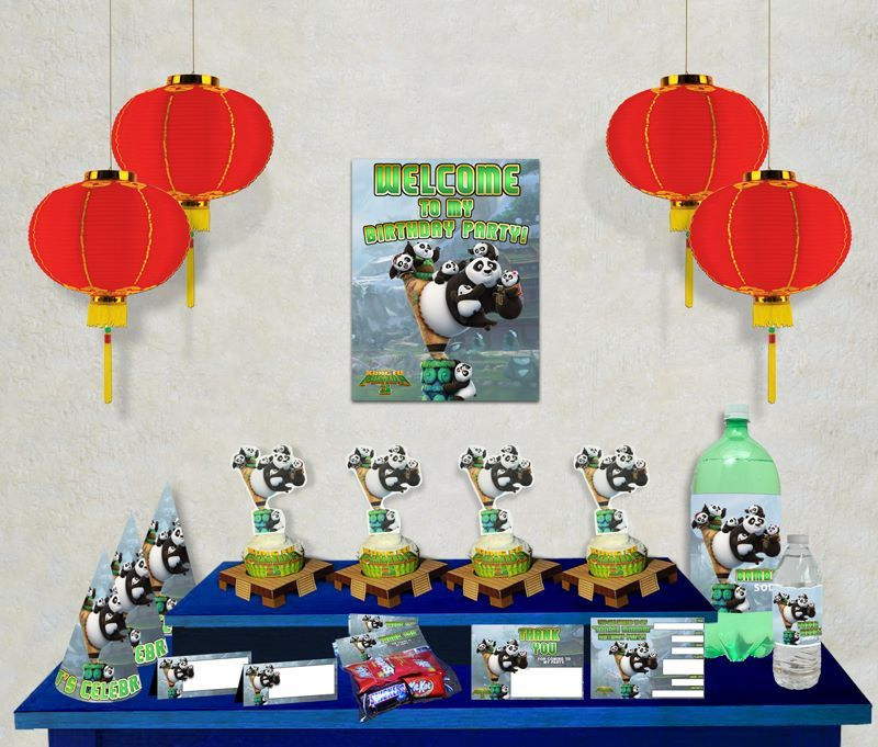 kung fu panda birthday invitation printable ; 61f195bd545ecbf4457db21d7b25fbb0