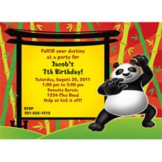 kung fu panda birthday invitation printable ; e7535059a7d720af0a5c02312e546ef0--panda-birthday-party-birthday-party-invitations