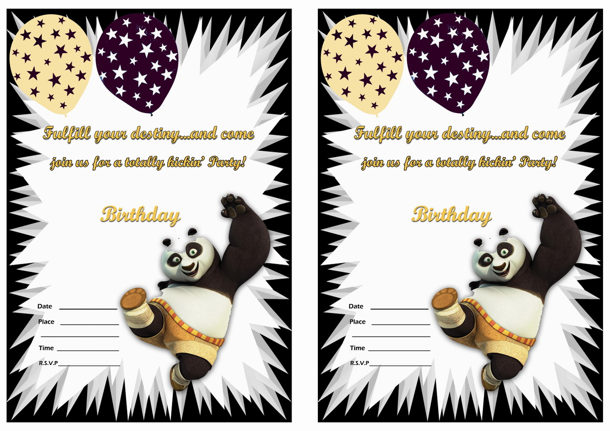 kung fu panda birthday invitation printable ; kong-fu-panda-invitation2