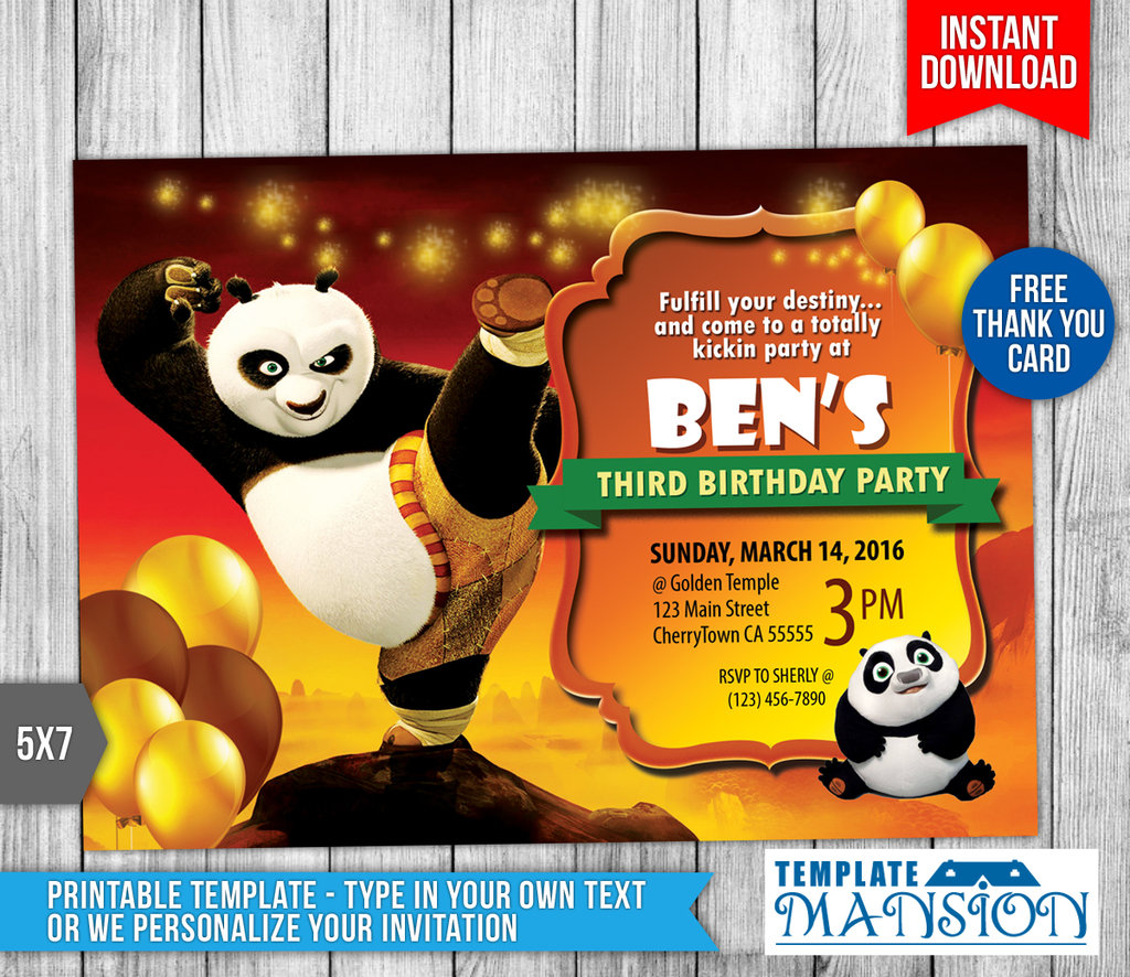 kung fu panda birthday invitation printable ; kung_fu_panda_invitation_with_thank_you_card_by_templatemansion_on_9