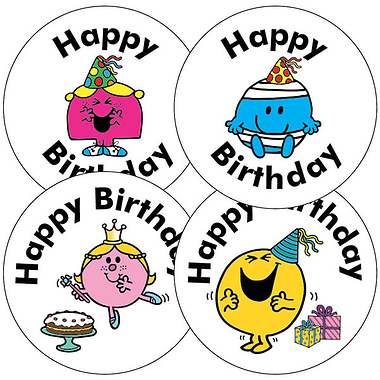large birthday stickers ; A165_1_Large