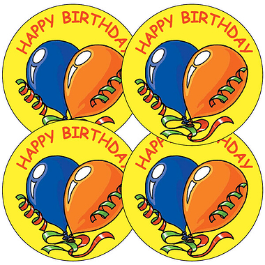 large birthday stickers ; A9_1_Large