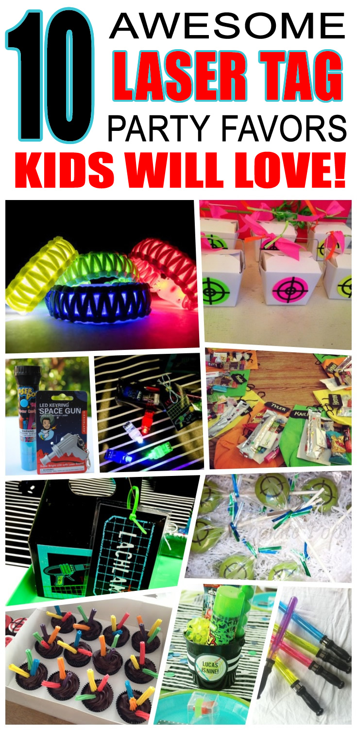 laser tag birthday party favors ; 2890c01a1d27159dcfd2577386e46c18