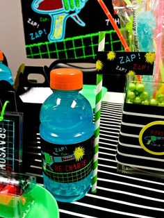 laser tag birthday party favors ; 7792e11562a43d6c65259f27feb0ef8b--laser-tag-party-printable-party