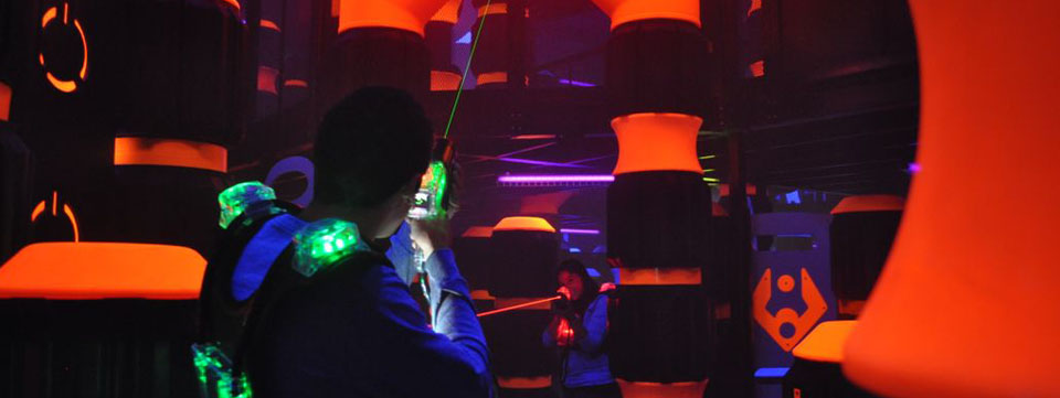 laser tag birthday party nyc ; banner