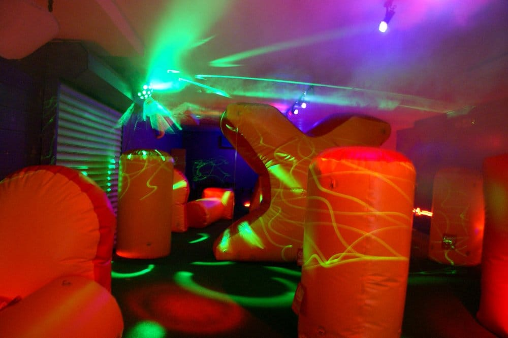 laser tag birthday party nyc ; o