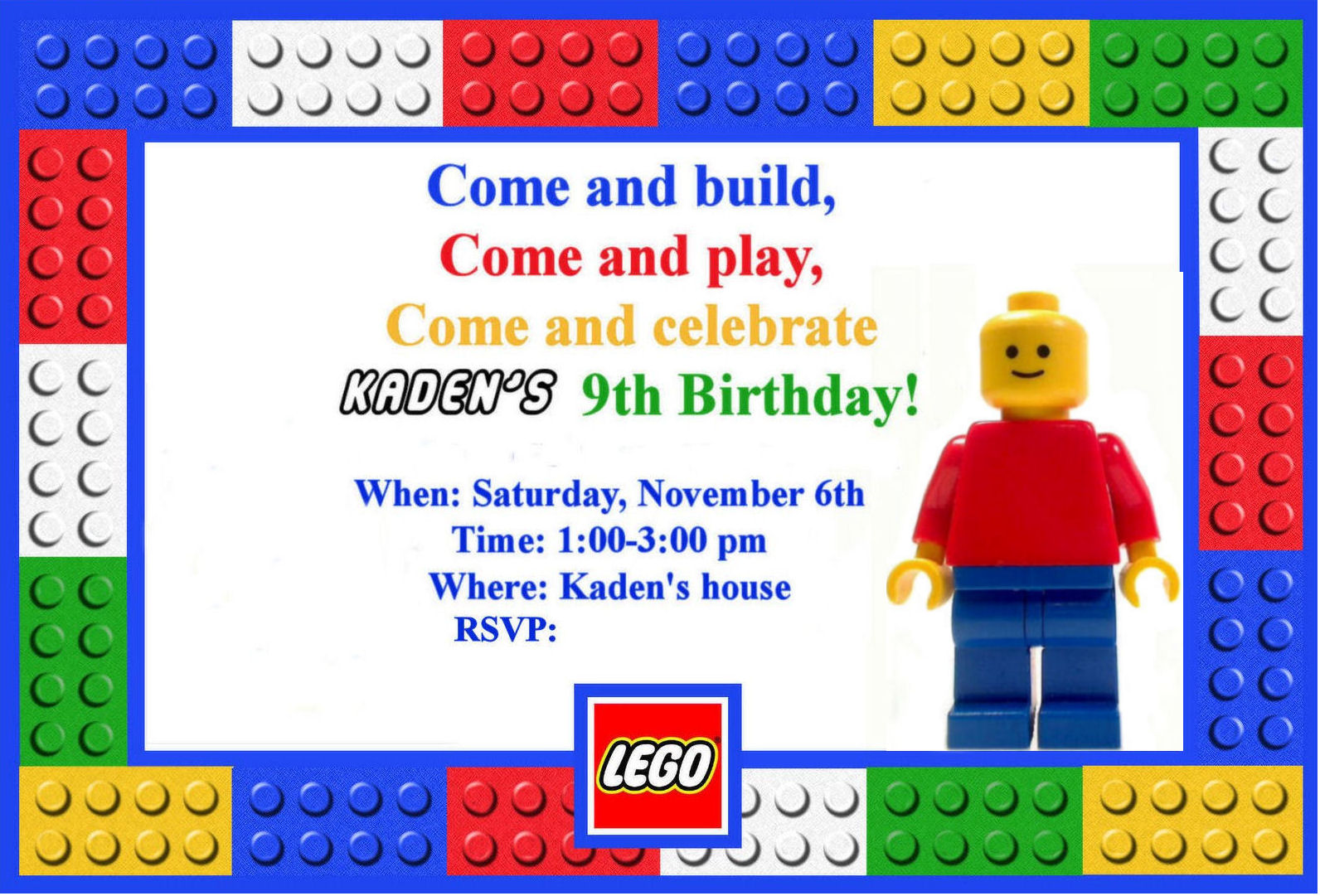 lego birthday clipart ; Terrific-Lego-Party-Invitations-For-Additional-Party-Invitation-Wording