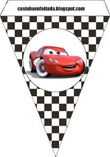 lightning mcqueen birthday banner printable ; 091ca8471a4700410110966dd2900e29--kit-cars-banner-ideas