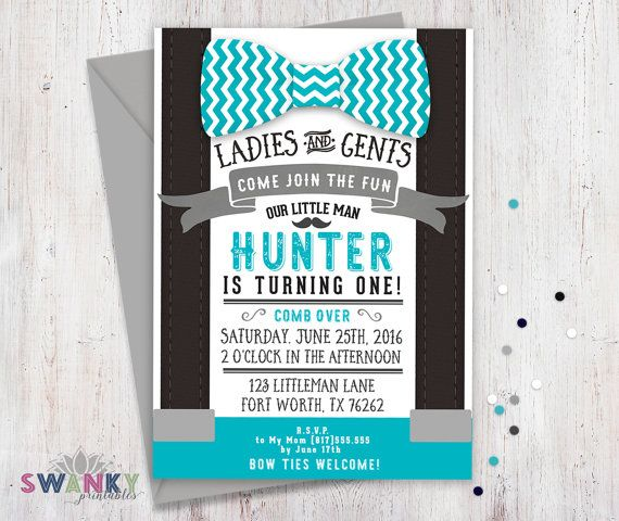 little man birthday invitation template ; little-man-birthday-invitations-with-exquisite-Birthday-Invitation-Templates-as-a-result-of-an-application-using-a-felicitous-concept-20