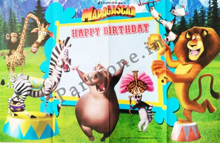 madagascar happy birthday ; 143771779926a