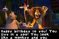 madagascar happy birthday ; 462182-madagascar-game-boy-advance-screenshot-cut-scene-birthday