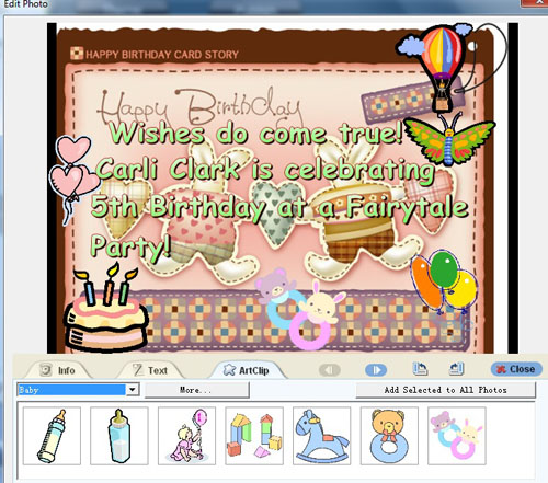 make your own photo birthday invitations free ; 490c0d700bb9a12911d81459e1f77c37