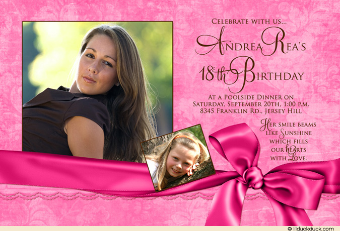 making a birthday invitation in photoshop ; bday-1