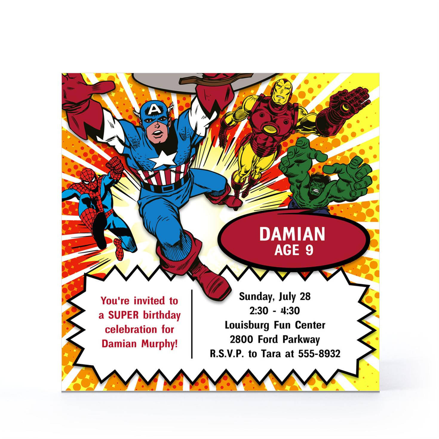 marvel birthday card printable ; New-Avengers-Birthday-Invitations-Which-Can-Be-Used-As-Free-Birthday-Invitation-Templates