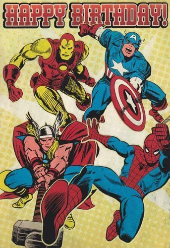 marvel birthday card printable ; marvel-greeting-cards-149-best-comic-birthday-cards-images-on-pinterest-birthday-cards-free
