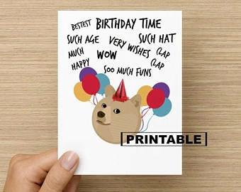 meme birthday card printable ; doge-birthday-card-inspirational-doge-birthday-card-of-doge-birthday-card