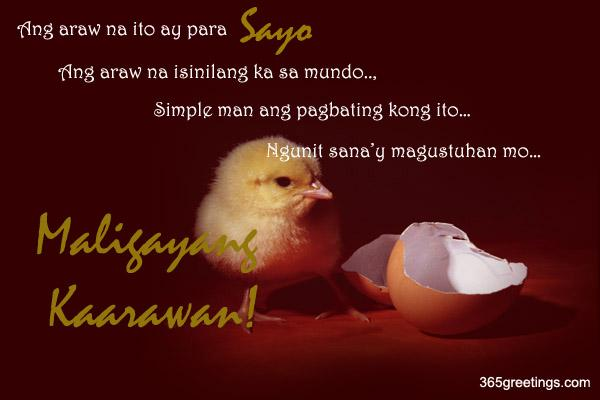 message for friend birthday tagalog ; birthday_7
