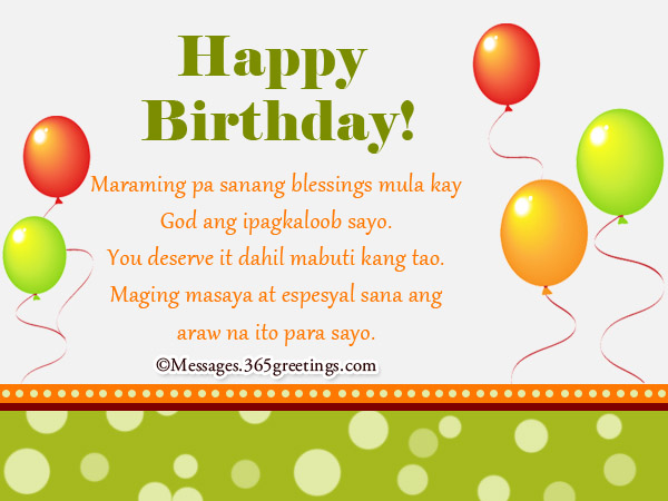 message for my best friend on her birthday tagalog ; happy-birthday-greetings-tagalog-for-him