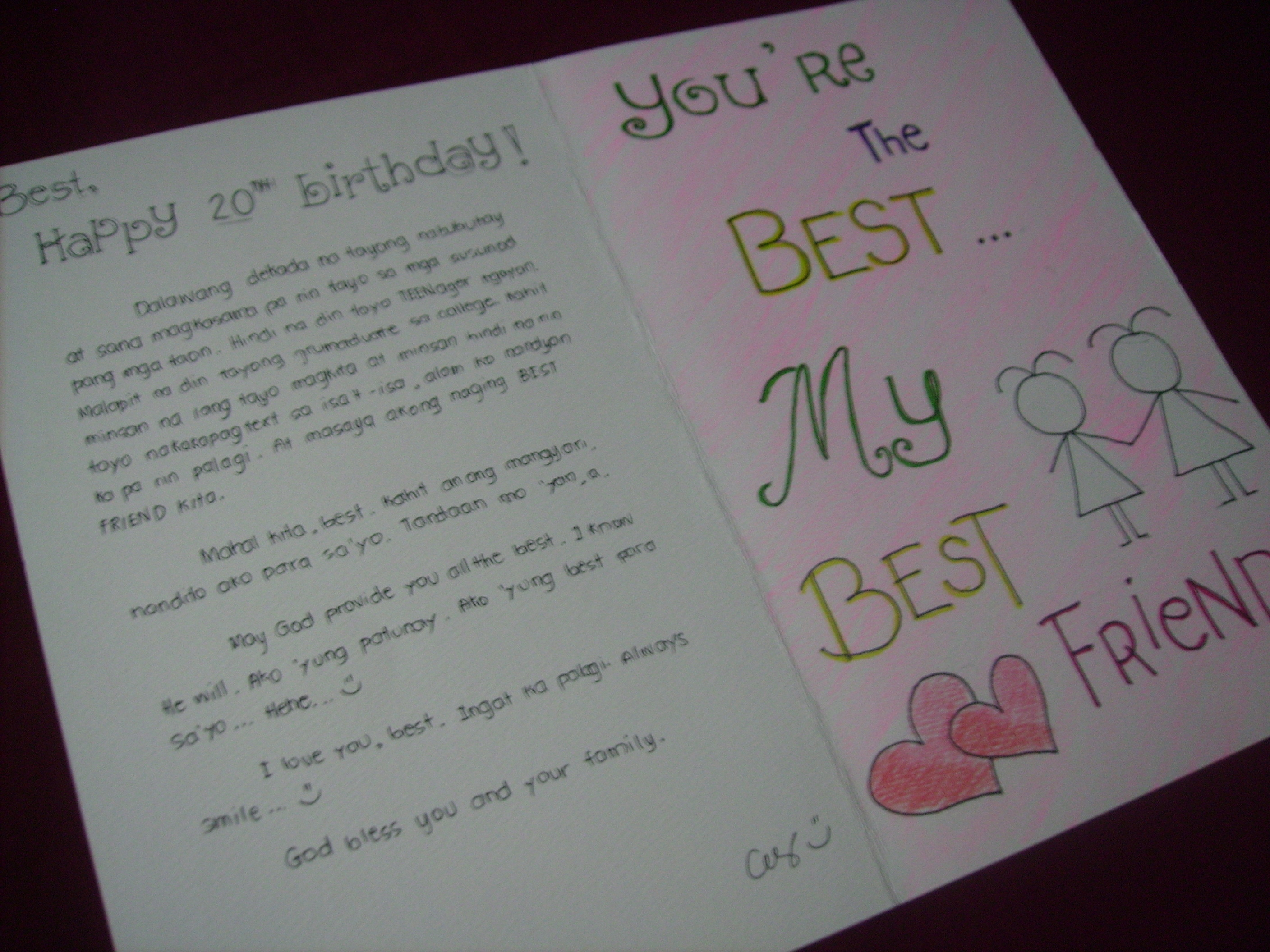 message for my best friend on her birthday tagalog ; pict1296