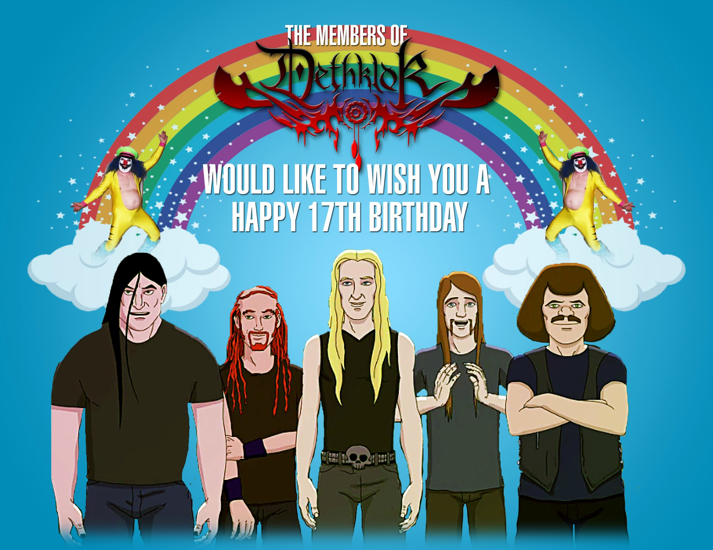 metalocalypse happy birthday ; 5PqyGpY