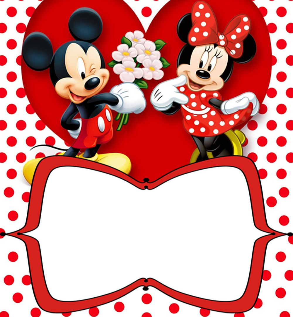 mickey and minnie mouse photo birthday invitations ; Printable-Minnie-Mickey-Mouse-Birthday-Invitation