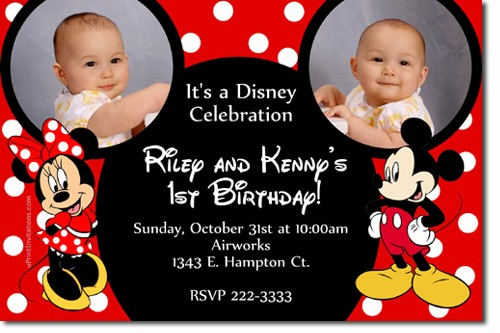 mickey and minnie mouse photo birthday invitations ; mickey_mouse_and_minnie_mouse_ears_birthday_invitations_d965160d
